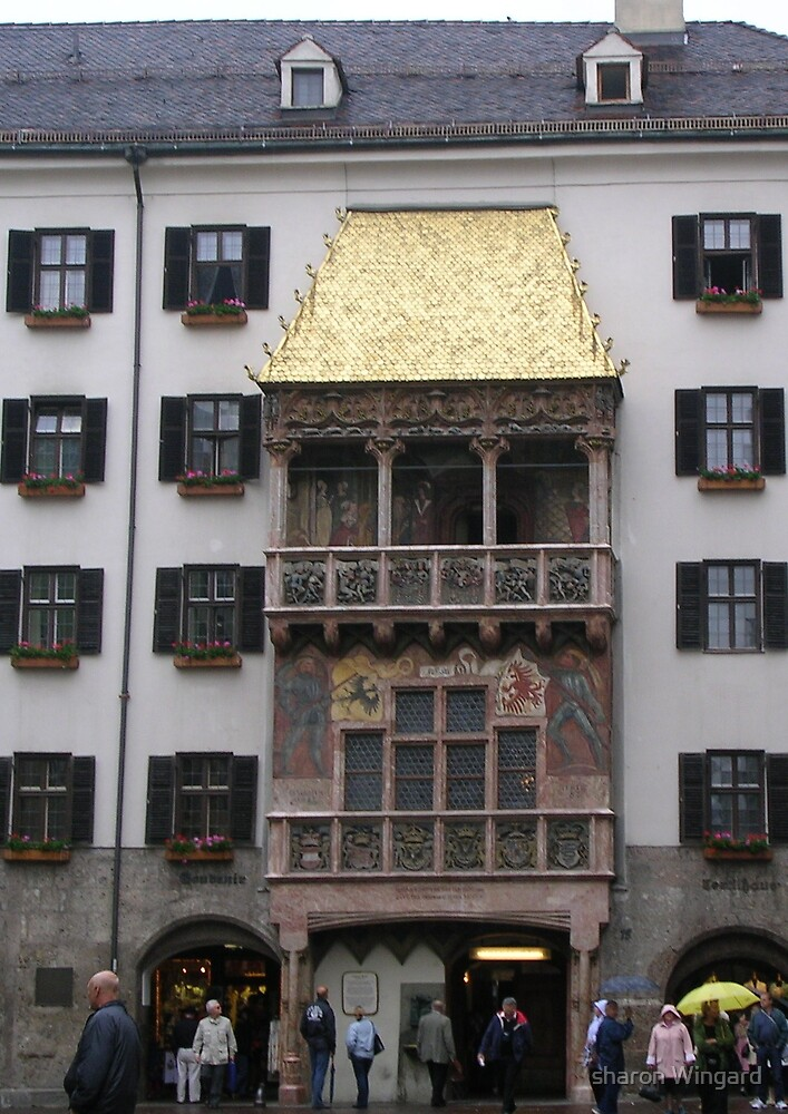 golden roof by sharon Wingard