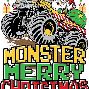 Santa Claus Monster Truck Christmas by offroadstyles