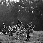 rebel charge by Lloyd Sherman
