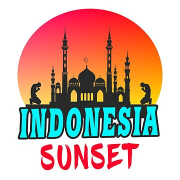 Indonesia sunset gift Mosque Islam by Rocky2018