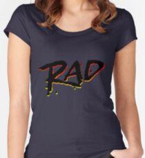 RAD 1980's BMX MOVIE Women's Fitted Scoop T-Shirt
