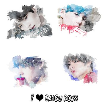 I love Daegu Boys by Kamikazekatze