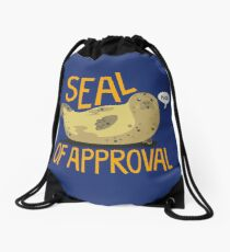 Seal of Approval Drawstring Bag