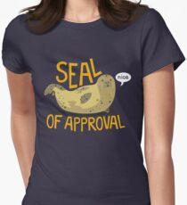 Camiseta entallada para mujer Sello de aprobación