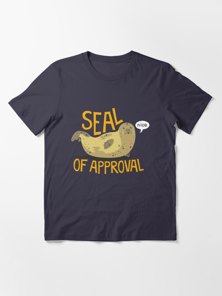 Alternate view of Seal of Approval Essential T-Shirt
