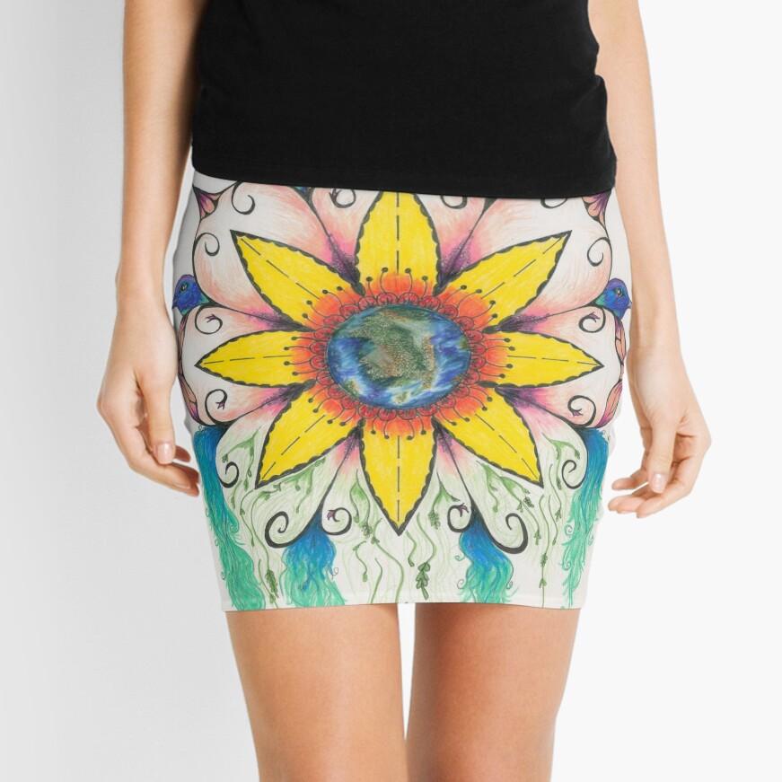 Symphony of Summer Mini Skirt