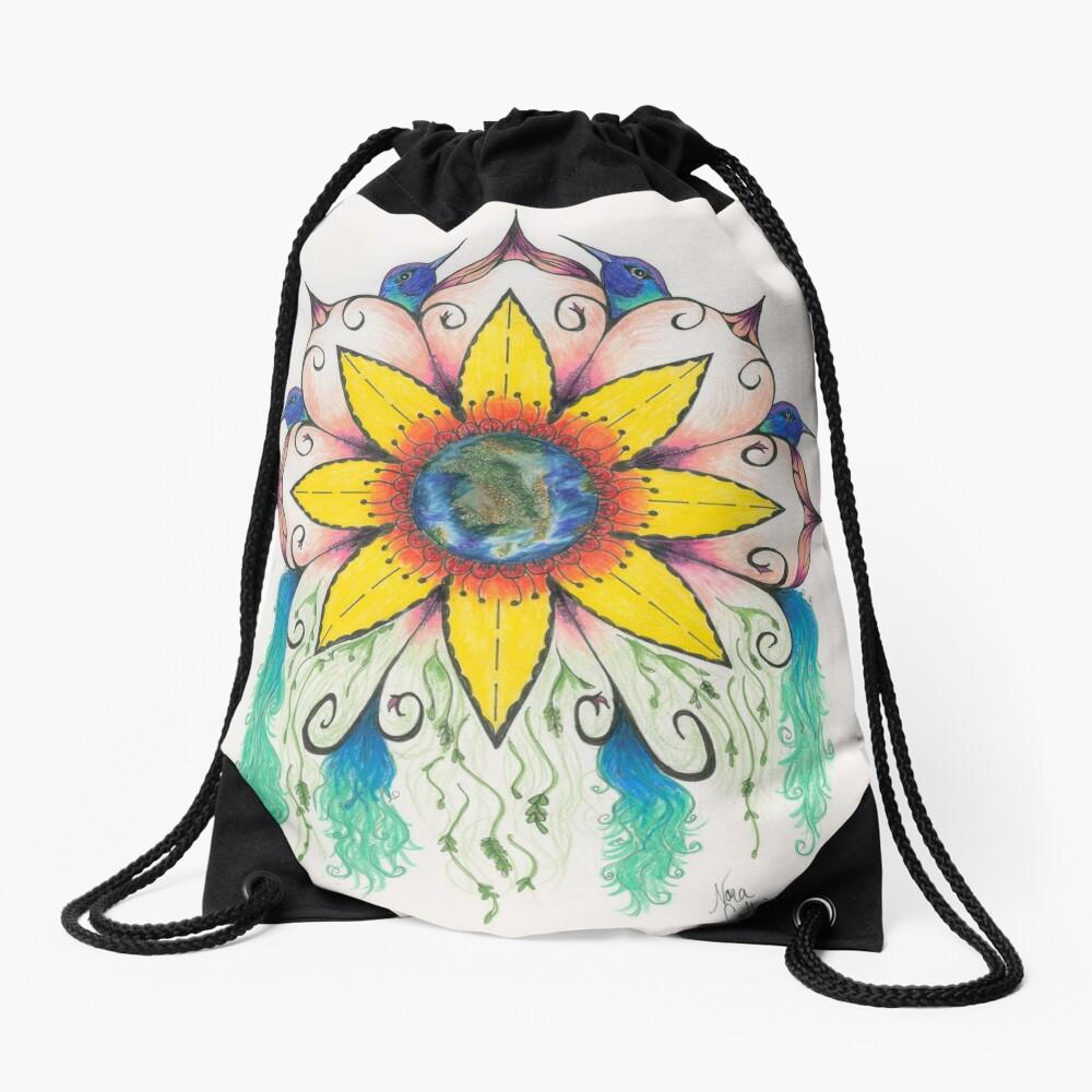 Symphony of Summer Drawstring Bag