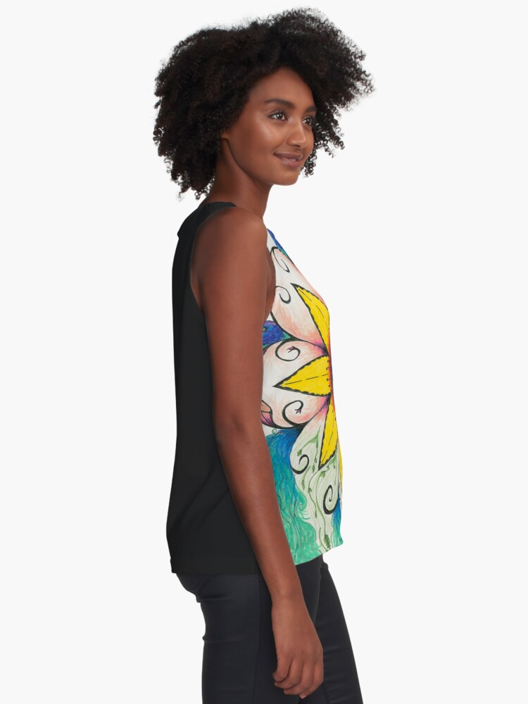 Alternate view of Symphony of Summer Sleeveless Top