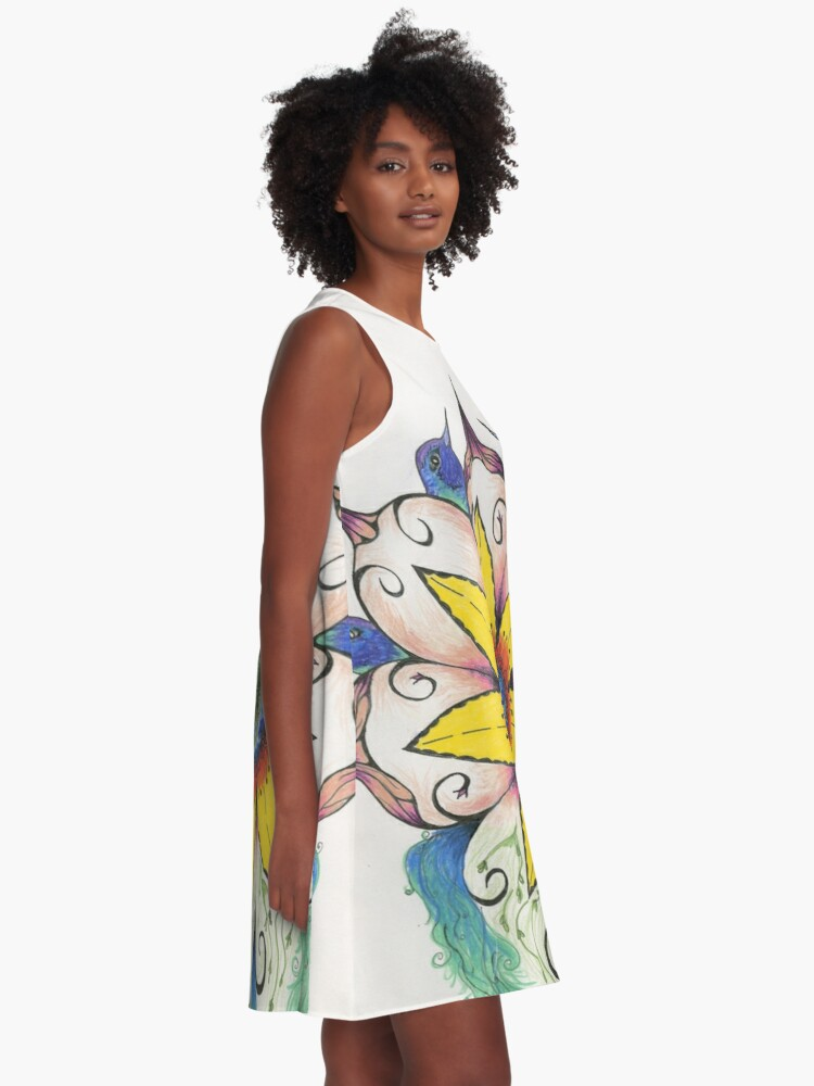 Alternate view of Symphony of Summer A-Line Dress