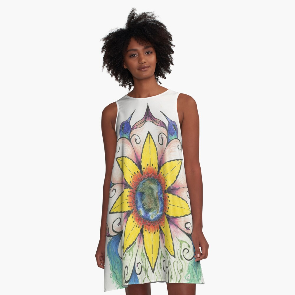 Symphony of Summer A-Line Dress