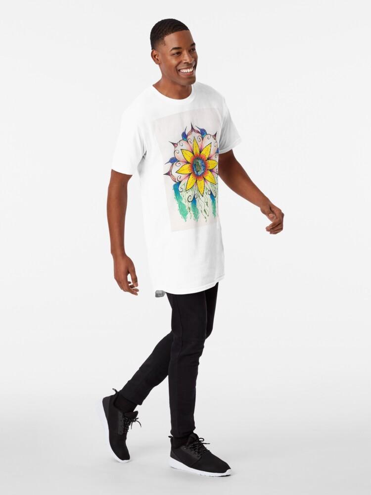 Alternate view of Symphony of Summer Long T-Shirt