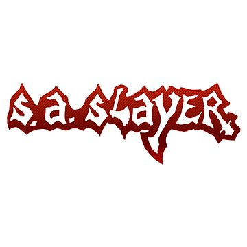 S.A. Slayer - Texas Heavy Metal 80s by tomastich85