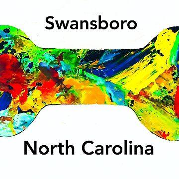 Swansboro NC dog bone by barryknauff