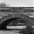 Detail of Convict Carvings, Ross Bridge, Tasmania by BRogers