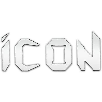 Icon - Silver 3D Logo - Heavy Metal Band from 80s by tomastich85