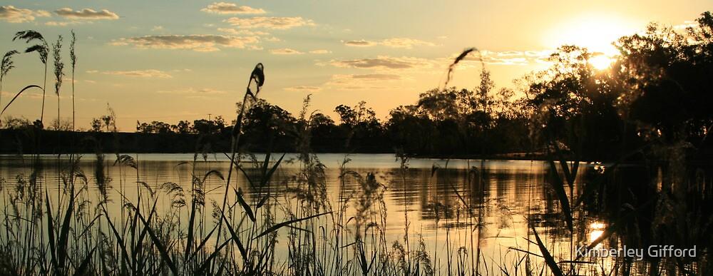 Murray Sunset by Kimberley Gifford