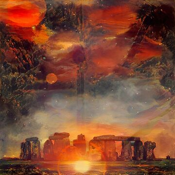 Surreal Stonehenge by rolffimages