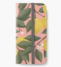 lemon tree iPhone Wallet/Case/Skin