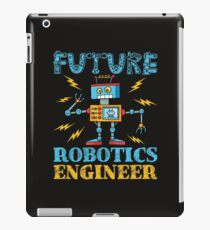 Zukünftiger Robotik-Ingenieur iPad-Hülle & Klebefolie