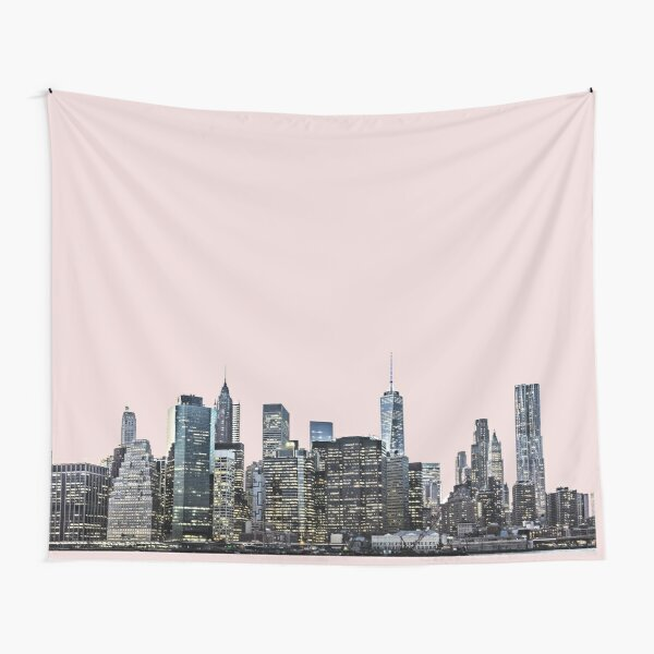 New York City Skyline Tapestry