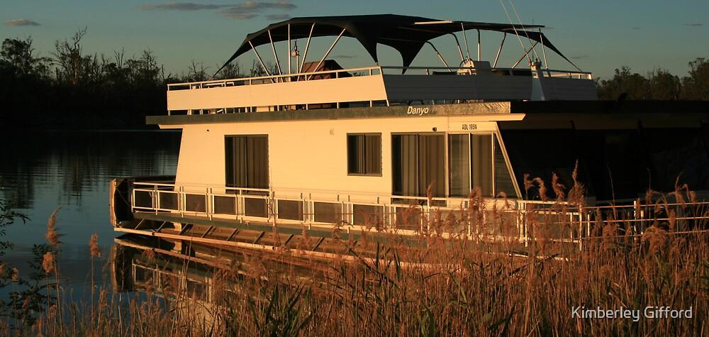 Holiday Houseboat by Kimberley Gifford