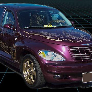 Purple PT CRUISER by imagetj