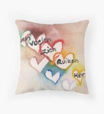 Modern sensitive art Floor Pillow