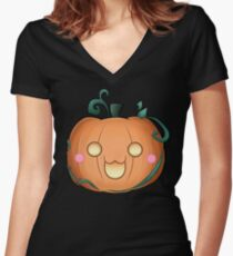 Cat'O Lantern - 2018 Women's Fitted V-Neck T-Shirt