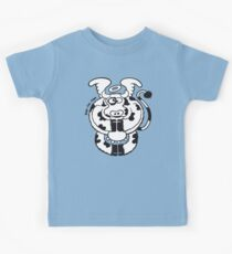Mystic Cow, bless our daily milk! Kids Tee