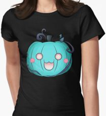 Cat'O Lantern - 2018 (Blue Version) Women's Fitted T-Shirt