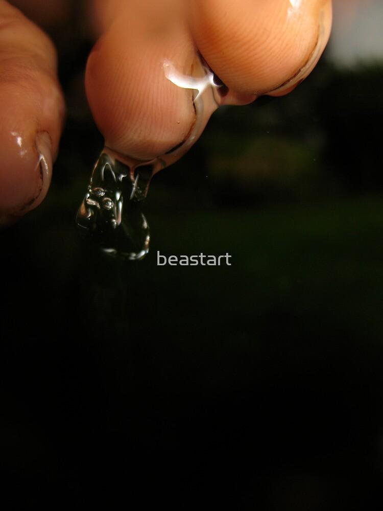 water in my hand by beastart