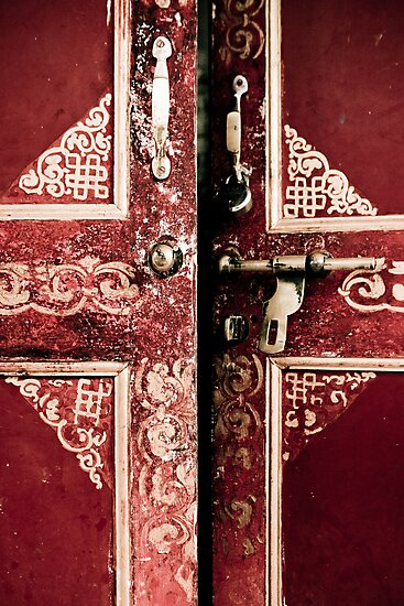 Red Door Opening by Chinua Ford