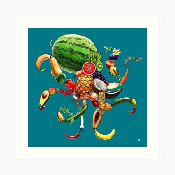 Pulpi Frutti Impression artistique