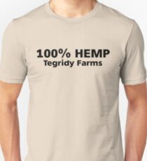 100% Hemp Tegridy Farms Unisex T-Shirt