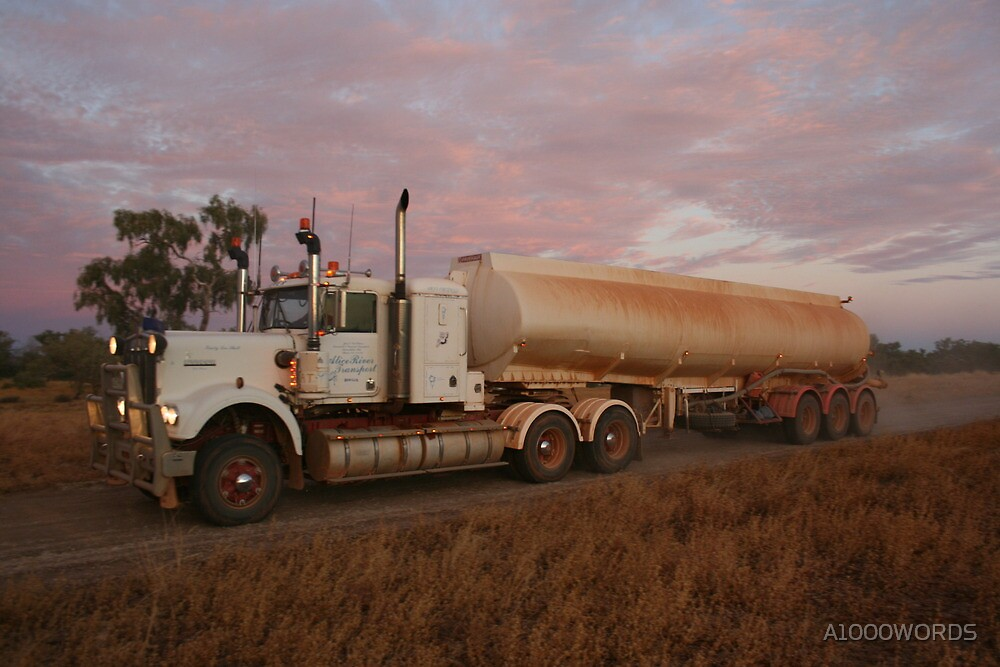 Truckin' by A1000WORDS