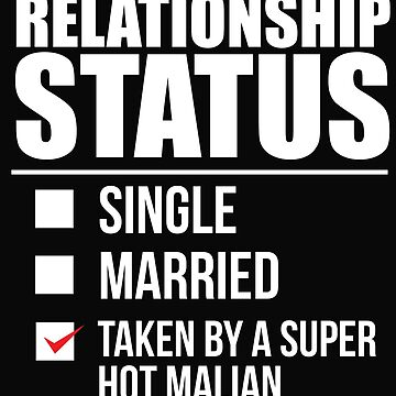 Relationship status taken by super hot Malian Mali Valentine's Day by losttribe