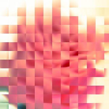 Pixel flower by LoraSi