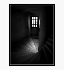 Chateau Steps Photographic Print