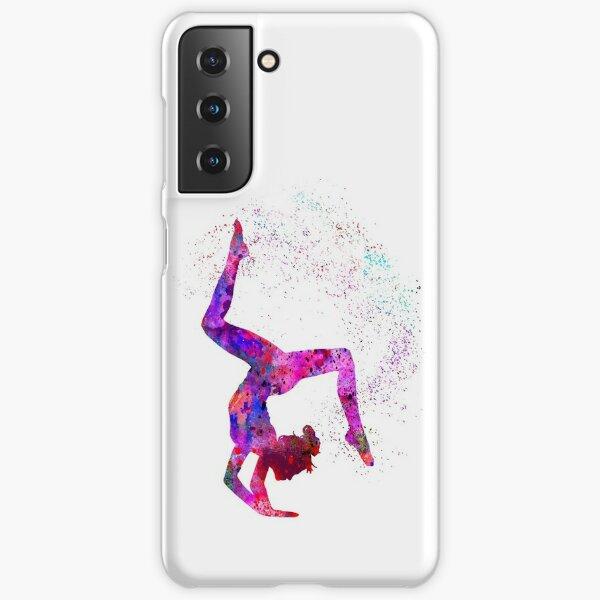 Coque et skin adhésive Samsung Galaxy « Fille de gymnastique ...