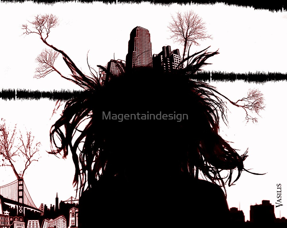 Crazy city people by Magentaindesign
