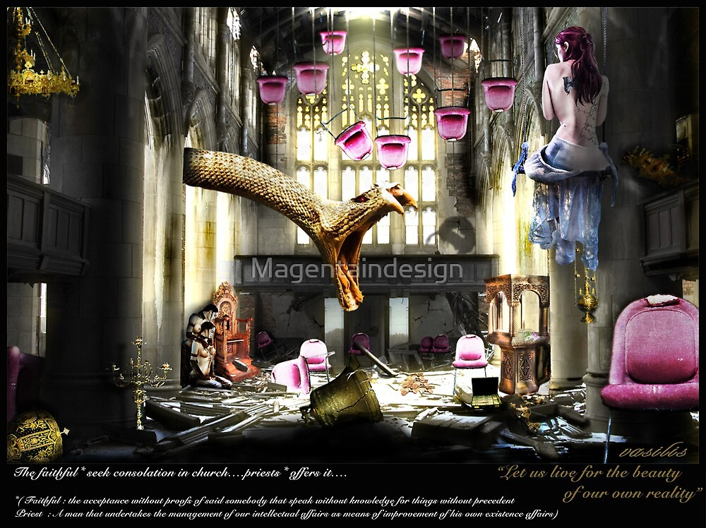 Religiously evil.... by Magentaindesign