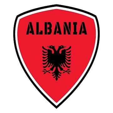 Albania Coat of Arms / Flag Gift Kosovo Tirana by Rocky2018