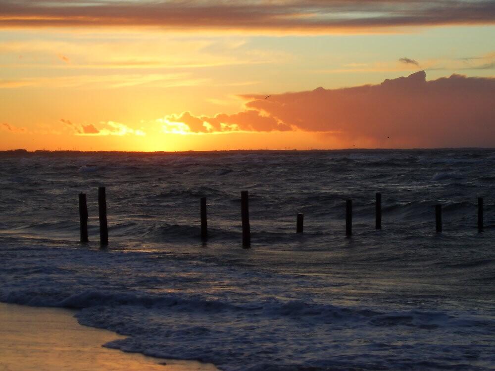 March Sunset by jannielund