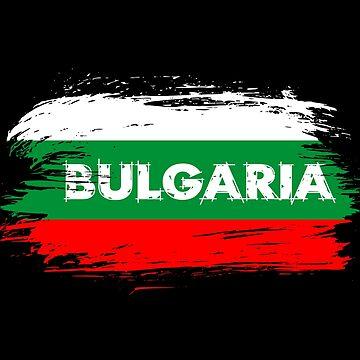 Bulgaria Flag / Gift Balkan Sofia Flag by Rocky2018
