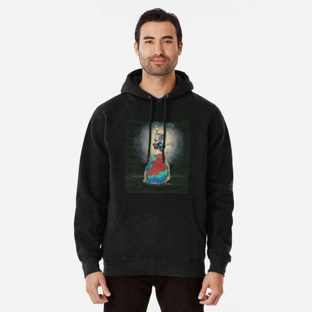 Tribal Style Pullover Hoodie