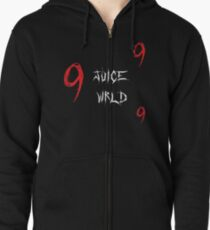 JUICE WRLD - 999 Zipped Hoodie