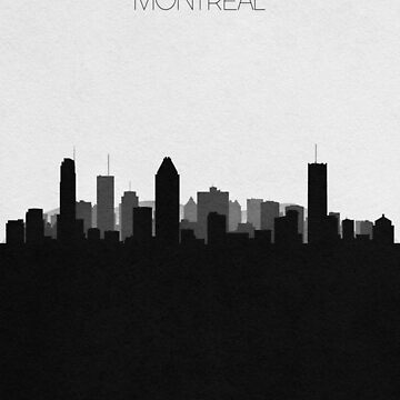 Travel Posters   Destination: Montreal by geekmywall
