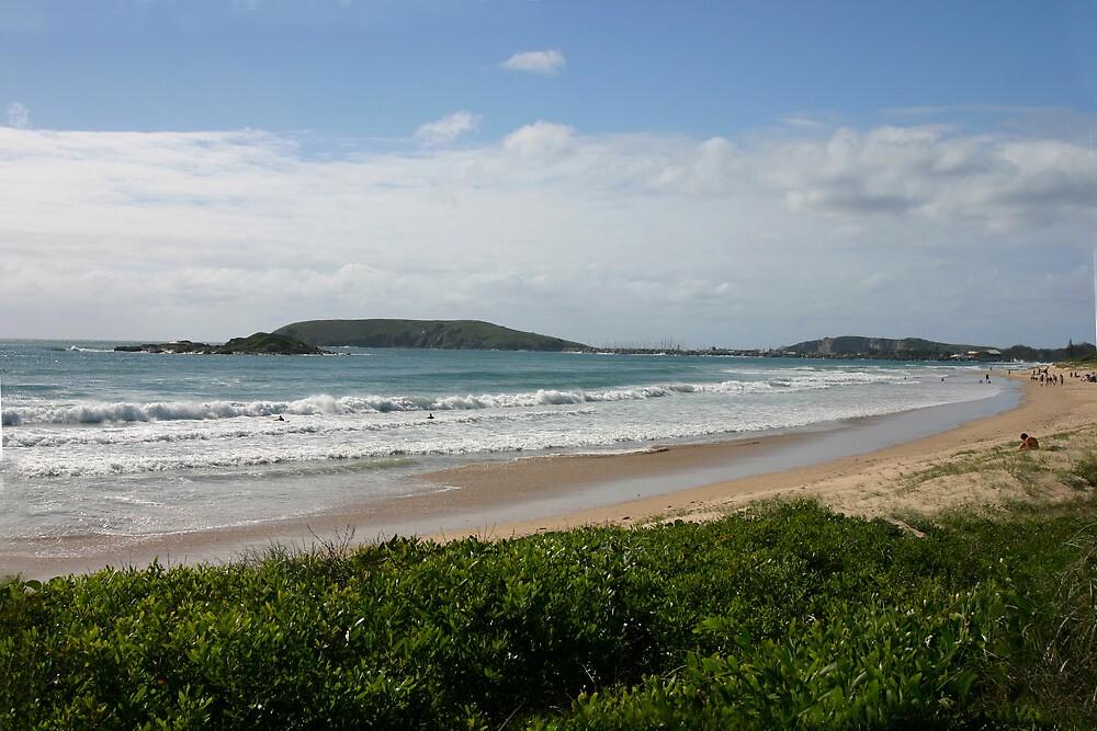 Beach by smallan