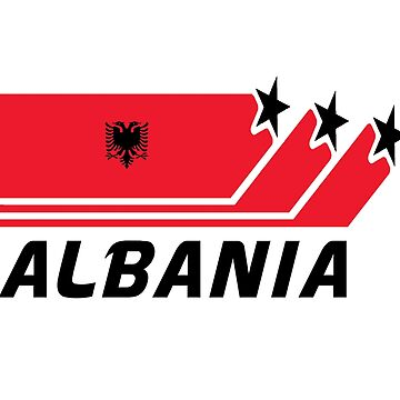 Albania national flag / gift flag by Rocky2018