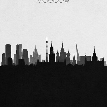 Travel Posters   Destination: Moscow by geekmywall
